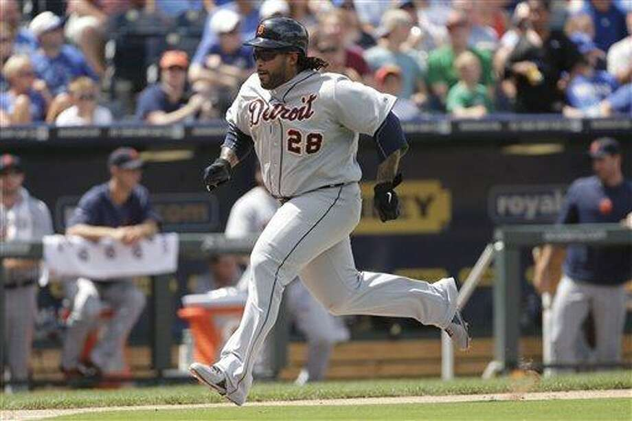 Detroit Tigers' Prince Fielder. (AP Photo/Charlie Riedel) Photo: AP / AP