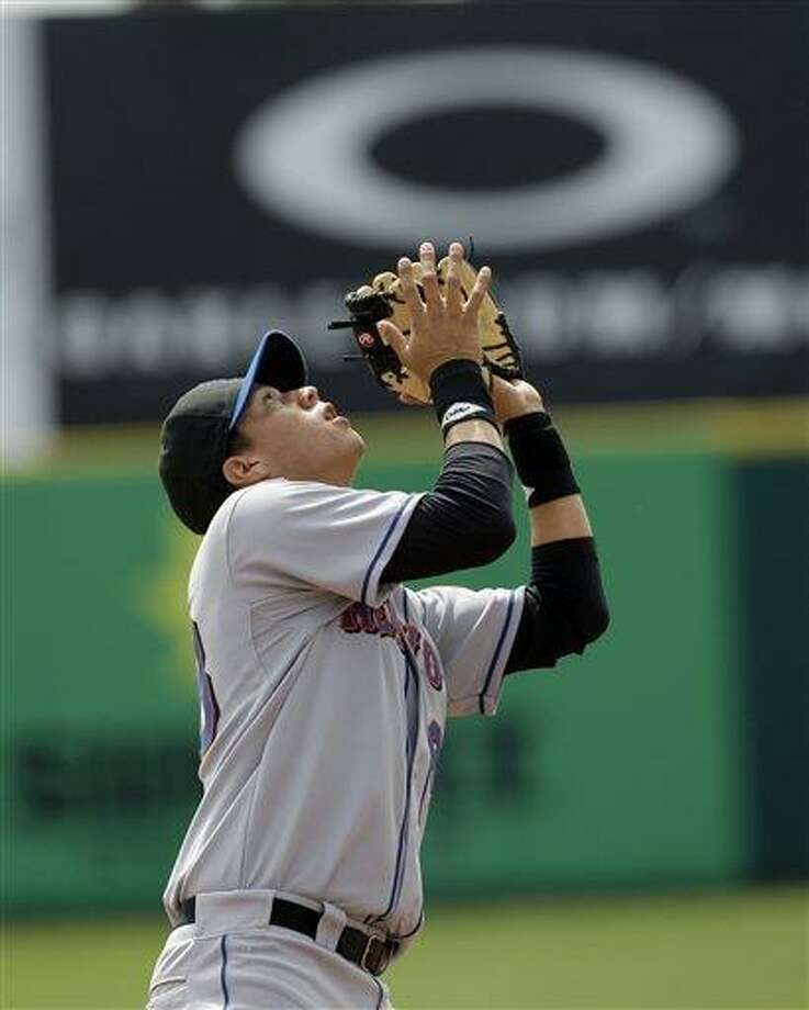 New York Mets prospect Wilmer Flores. (AP Photo/Rob Carr) Photo: ASSOCIATED PRESS / AP2009