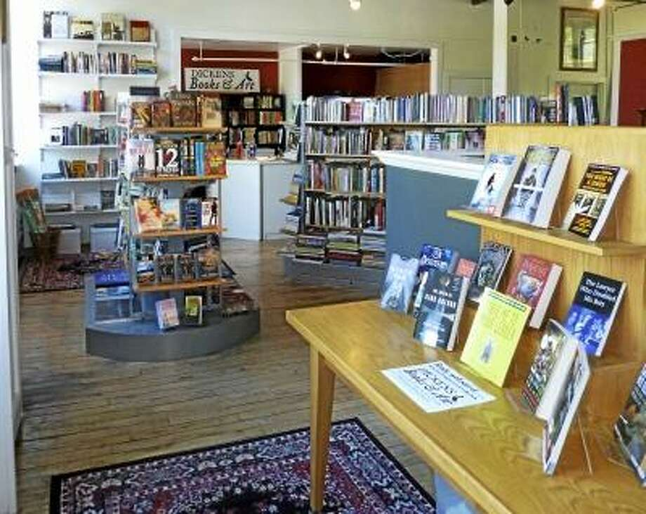 Submitted photo - Dickens Books and Art is open in Bantam Fridays through Mondays from noon to 7 p.m.