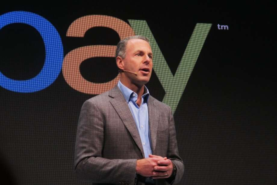 Devin Wenig,president of eBay marketplaces speaks at a news conference in Berlin,Thursday, Sept. 26, 2013. Photo: AP / AP