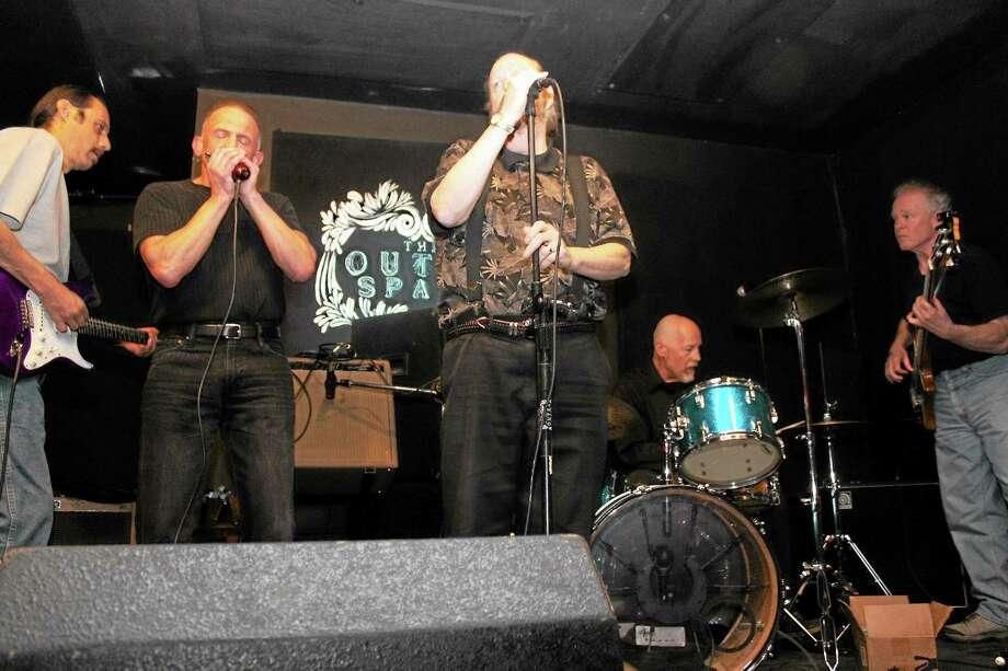 The latest version of the Elm City Blues Project plays Sunday. Photo: Paula Severino — Www.4paula.info