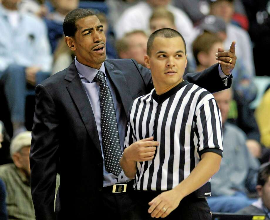 With a deep team, UConn coach Kevin Ollie has to make an effort to keep guys happy and ensure team chemistry. Photo: Fred Beckham — The Associated Press   / FR153656 AP