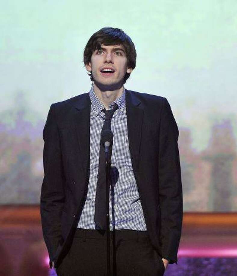Tumblr CEO David Karp, winner for best community website, speaks at the 16th annual Webby Awards in New York in this May 21, 2012 file photo. (REUTERS/Stephen Chernin/Files) Photo: REUTERS / X01634