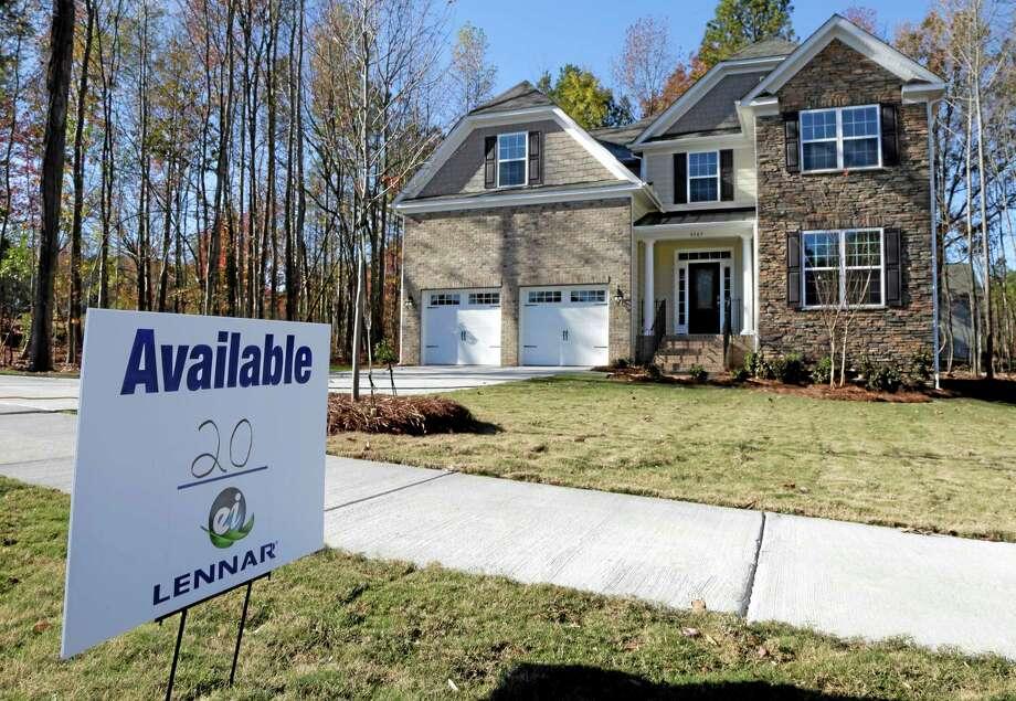 A home is for sale in Matthews, N.C. Photo: Chuck Burton — The Associated Press File Photo   / AP