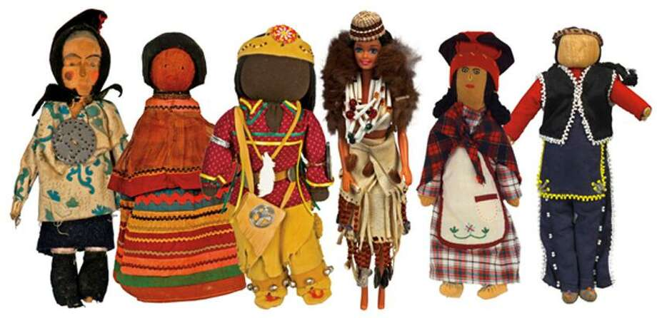 """Contributed photo: """"Neetopawees: Dolls as Ambassadors of Native Culture"""" continues through April 20."""