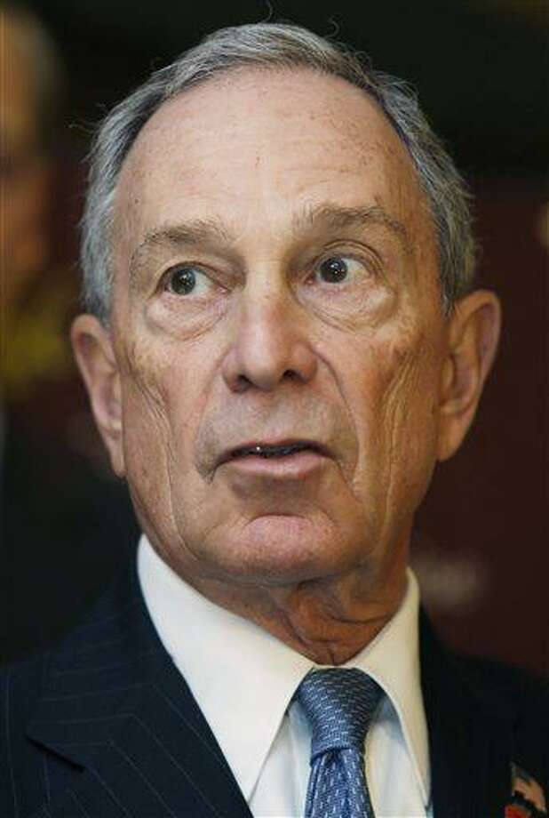 FILE - In this March 12, 2013 file photo, New York City Mayor Michael Bloomberg speaks during a news conference at in New York. New York City Police said on Wednesday, May 29, 2013 that two anonymous letters sent to Bloomberg contained traces of the deadly poison ricin. Police say civilian personnel who came into contact with the letters were not showing any symptoms, but some officers who later examined the one in New York were. (AP Photo/Seth Wenig, File) Photo: AP / AP