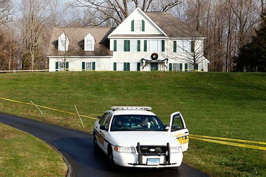 The home of Nancy Lanza in Newtown. Jason DeCrow/AP file photo