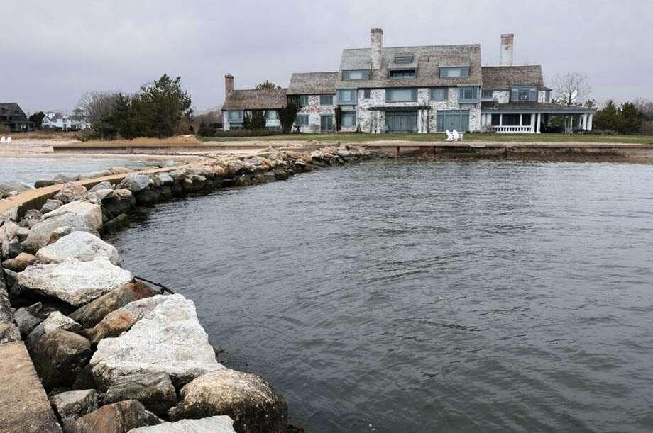 The former Katharine Hepburn house in Fenwick in 2011. File photo by Mara Lavitt/New Haven Register