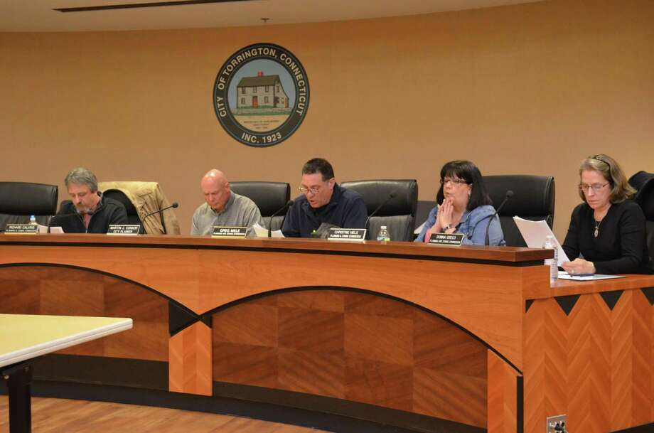 Torrington Planning & Zoning Commission on Wednesday, March 27, 2013. KATE HARTMAN/REGISTER CITIZEN.