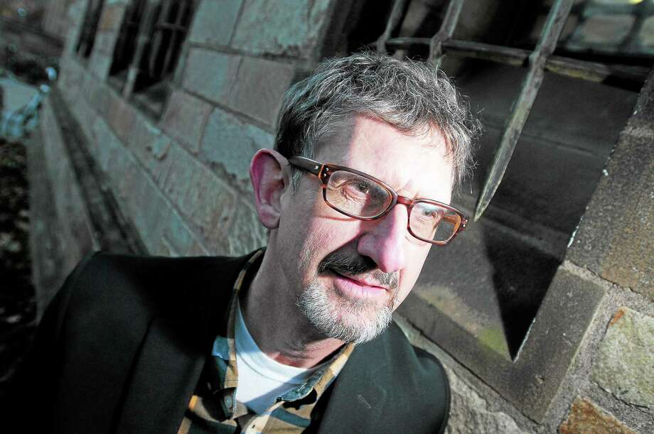 "Tim Parrish, author of ""Fear and What Follows: The Violent Education of a Christian Racist,"" is photographed in New Haven. Photo: Arnold Gold — New Haven Register"