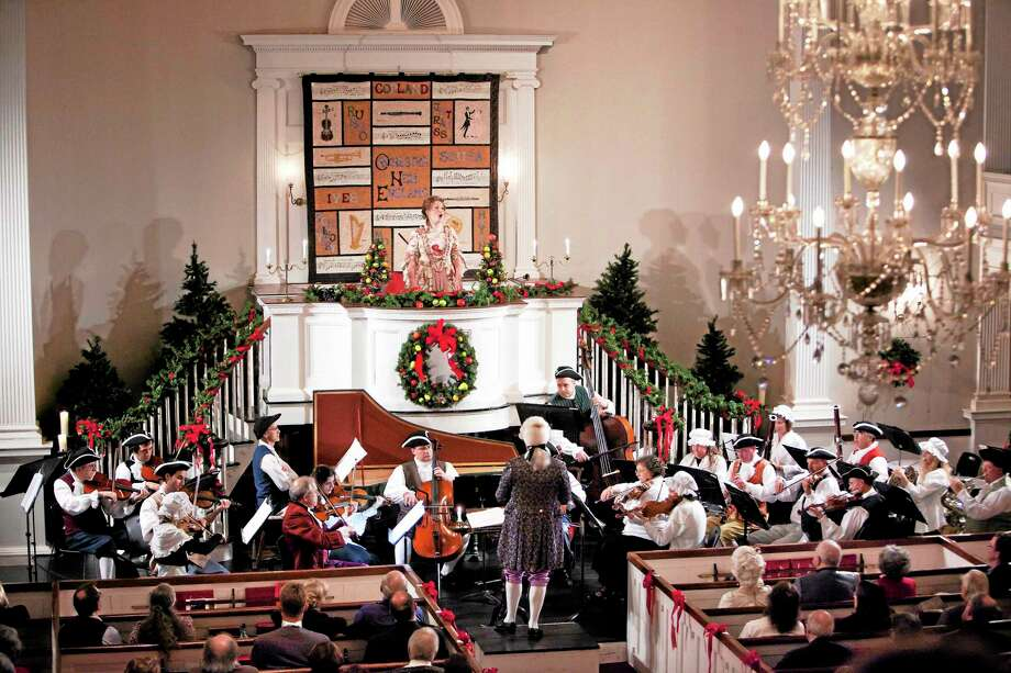 Orchestra New England's Colonial Concert is always a festive occasion. Photo: Harold Shapiro