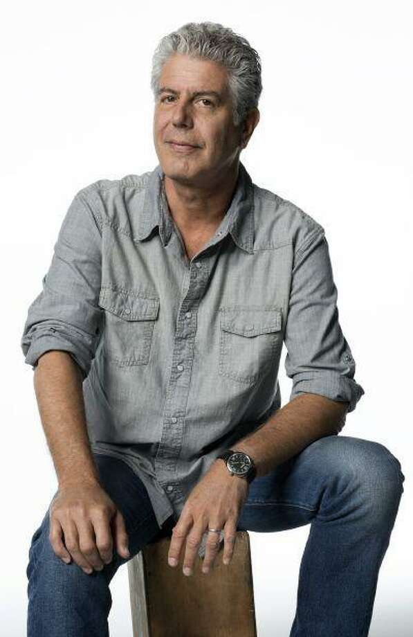 "TV personality Anthony Bourdain's show ""Parts Unknown"" takes him to such places as Congo and Libya. He says he always get to pick his destinations."