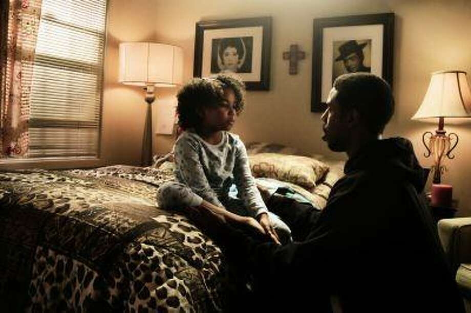 """Michael B. Jordan and Ariana Neal in """"Fruitvale Station,"""" the astonishing directorial debut of Ryan Coogler. Illustrates FILM-FRUITVALE-ADV19 (category e), by Ann Hornaday (c) 2013, The Washington Post. Moved Wednesday, July 17, 2013. (MUST CREDIT: Cait Adkins) Photo: The Washington Post / THE WASHINGTON POST"""