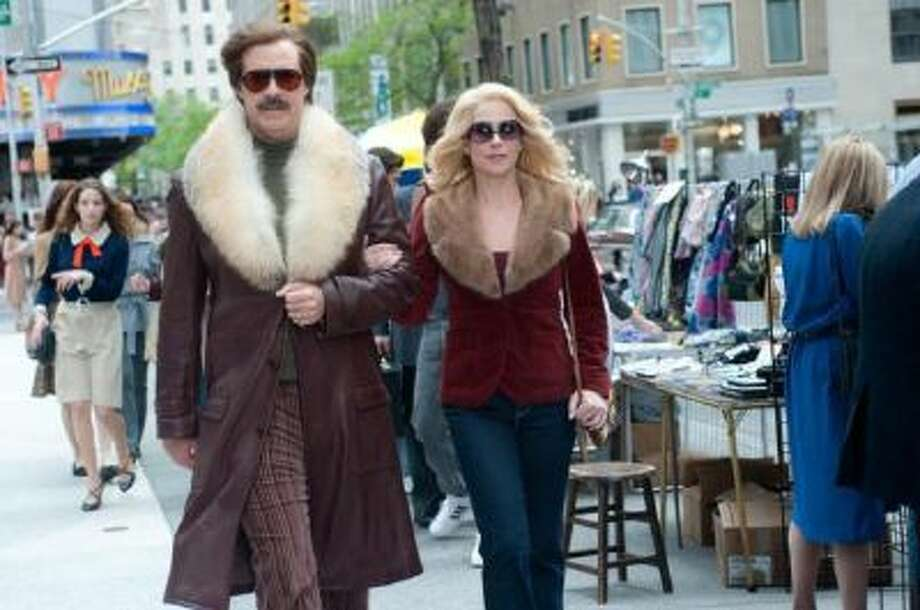"Will Ferrell is Ron Burgundy and Christina Applegate is Veronica Corningstone in the long-awaited sequel ""Anchorman 2: The Legend Continues."""