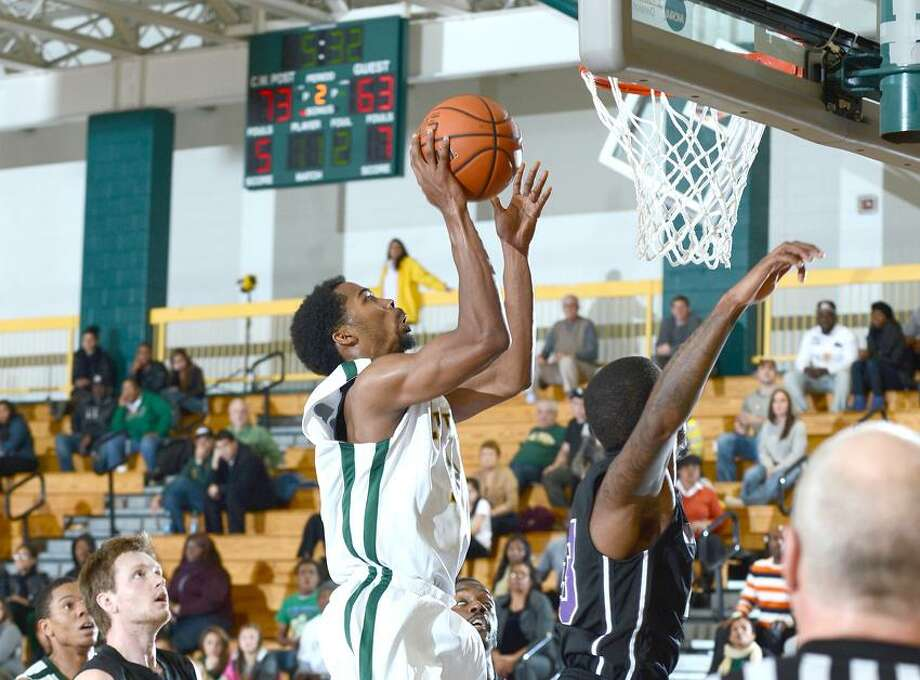 Hamden's Tobin Carberry during the LIU Post vs Bridgeport game from earlier this season. hoto by Alan J Schaefer Photo: Photos By Alan J Schaefer / © 2012 Alan J Schaefer - All Rights Reserved