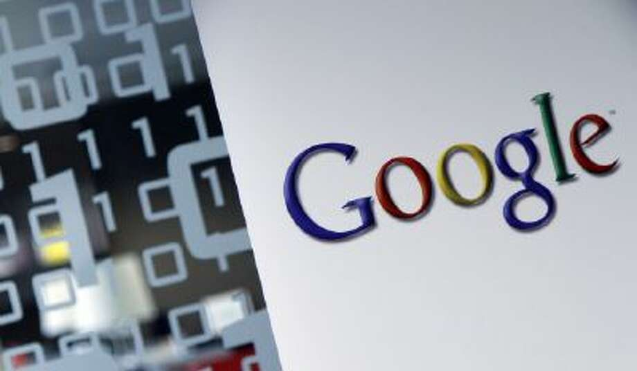The Google logo is seen
