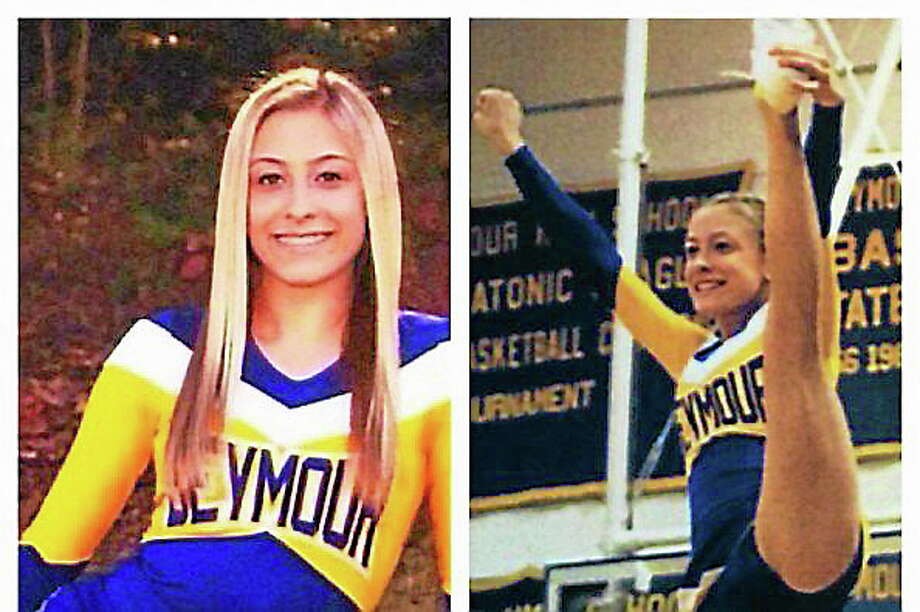 CONTRIBUTED PHOTO  Sixteen-year-old Nina Poeta, a Seymour cheerleader and gymnast, is fighting cancer. Photo: Journal Register Co.