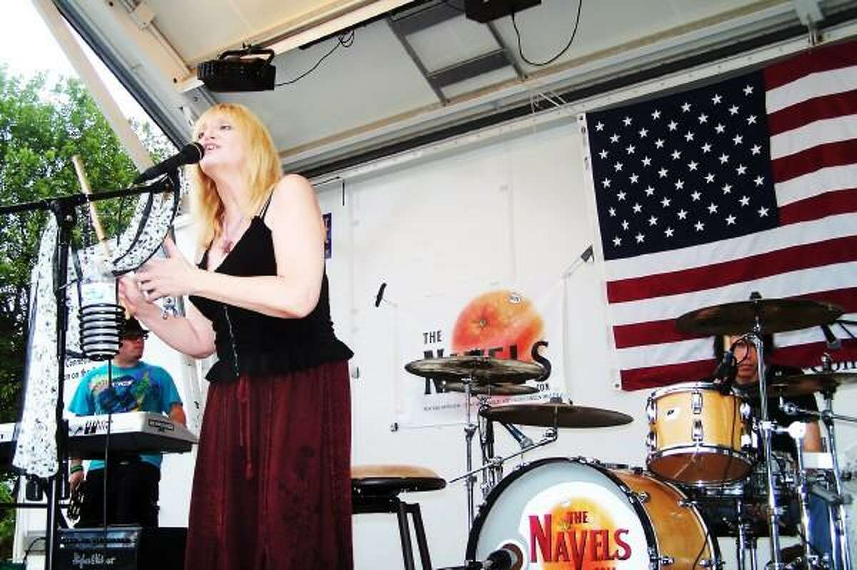 Michael P. Walsh/City of West Haven photo: The Navels are the final musical act of the Savin Rock Festival on Sunday night.