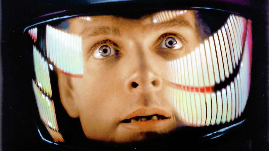 """Keir Dullea, here as scientist David Bowman in Stanley Kubrick's 1968 classic """"2001: A Space Odyssey,"""" is in New Haven Sunday. Photo: Metro Goldwyn Mayer"""