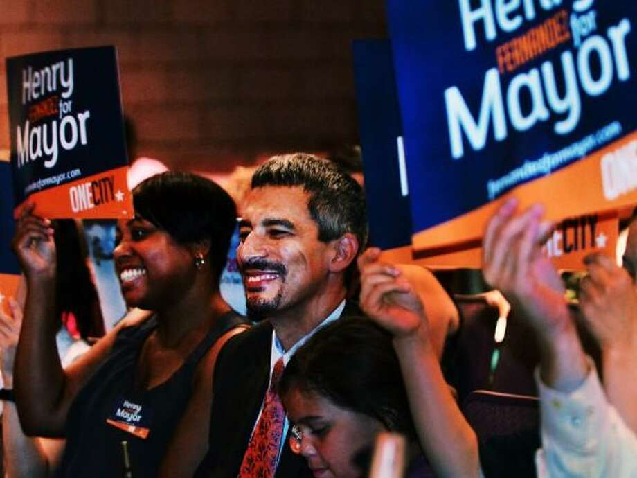 Mayoral Candidate Henry Fernandez, at the Democratic Covention in New Haven. Melanie Stengel/New Haven Register