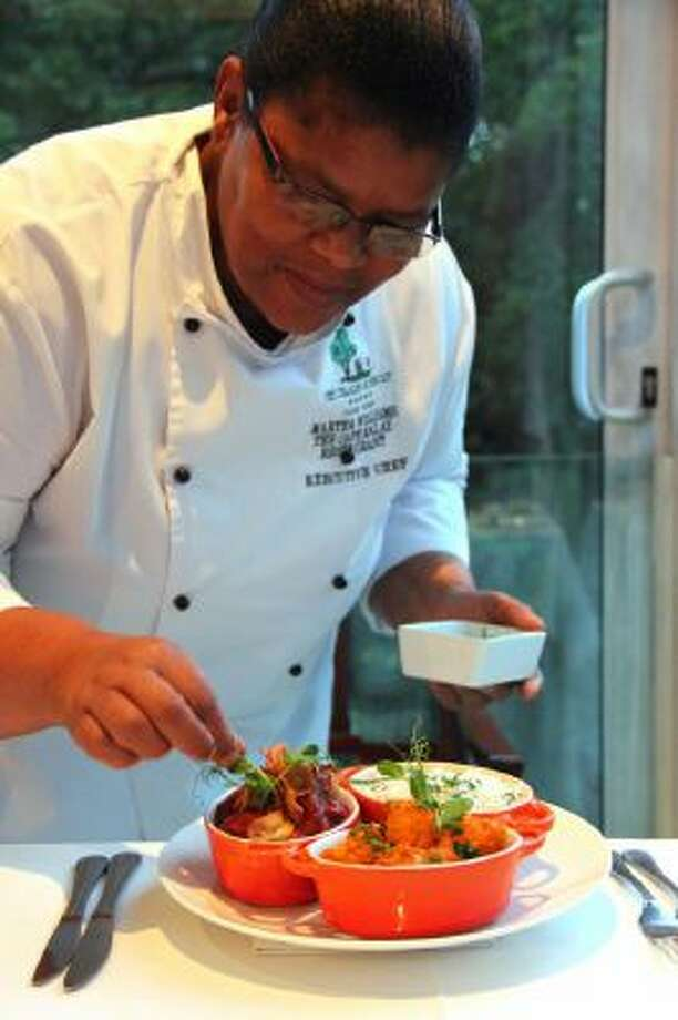 In Cape Town, South Africa, executive chef Martha Williams elevates the tomato bredie to a form of fine dining at Cellars-Hohenort, where she teaches guests about the nuances of Cape Malay food.