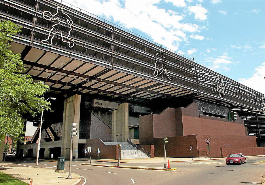 (Mara Lavitt — New Haven Register)The New Haven Coliseum 060204. Photo: Journal Register Co.