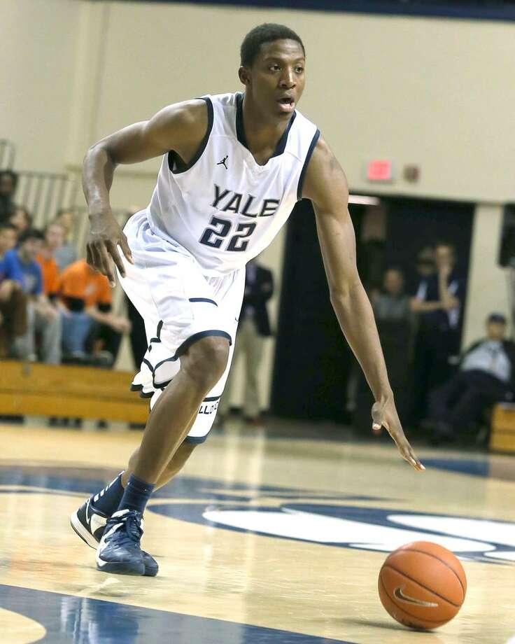 Yale freshman Justin Sears. (Photo courtesy of Yale Athletics)