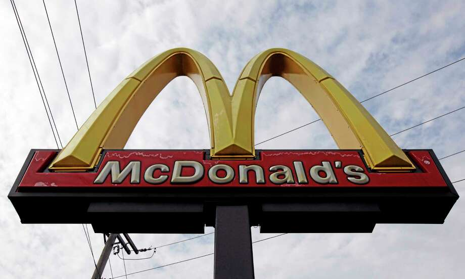 A McDonald's restaurant sign at a McDonald's in Chicago. Photo: Nam Y. Huh — The Associated Press File Photo   / AP