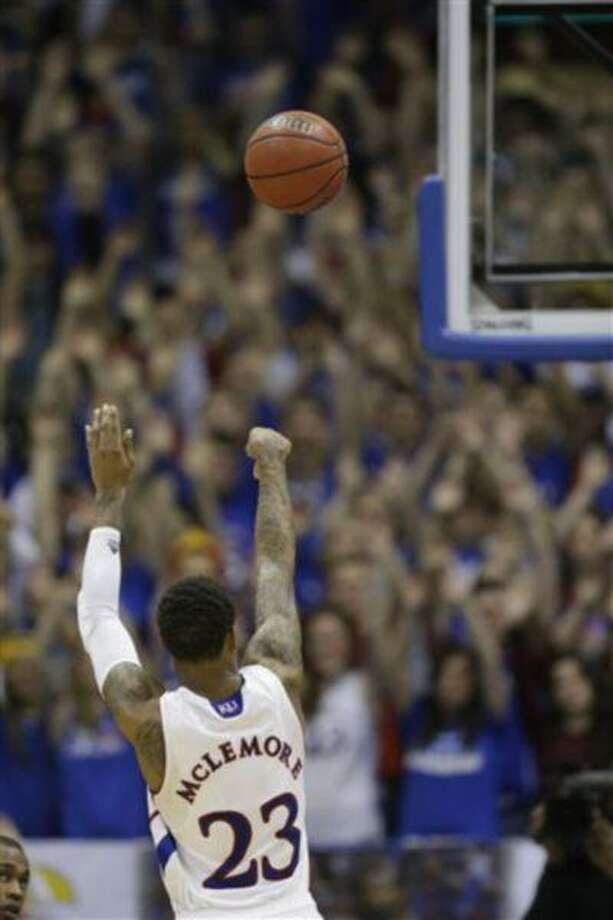 Kansas guard Ben McLemore (23) during the second half of an NCAA college basketball game against Texas Tech in Lawrence, Kan., March 4, 2013. Photo: AP / AP