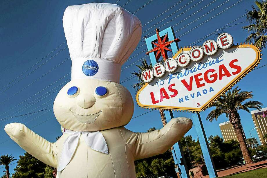 It just goes to prove, you never know who you'll run into out in Vegas. Photo: Pillsbury   / Pillsbury/General Mills