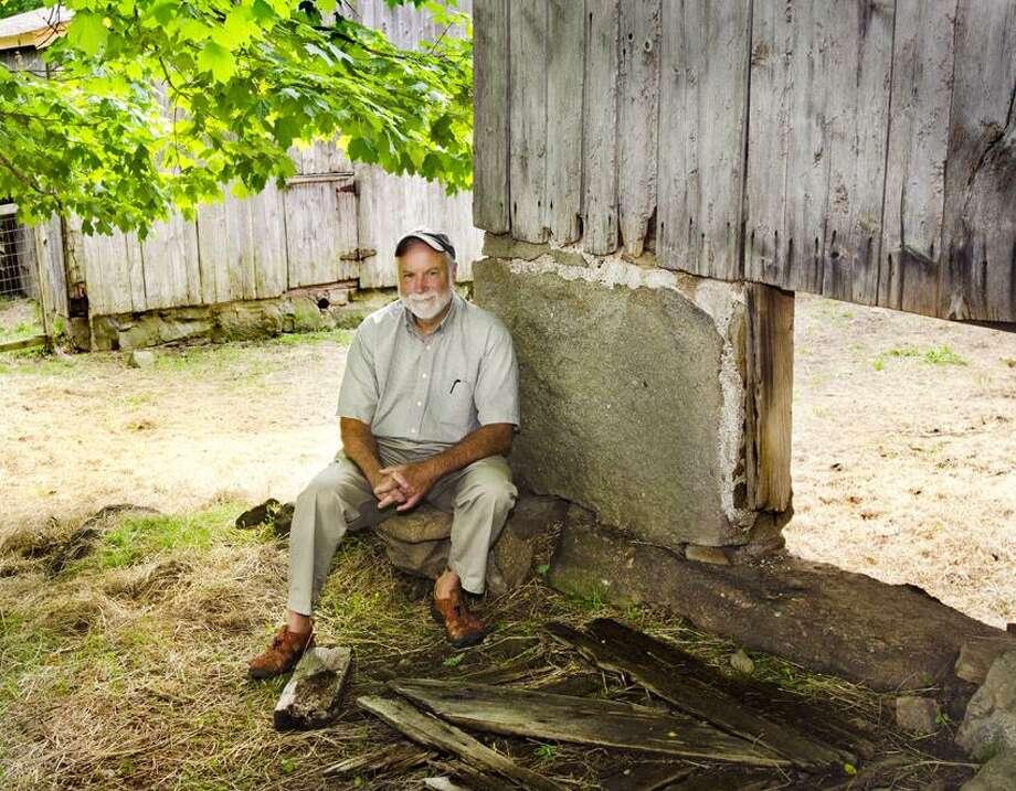 GUILFORD-Jim Powerss, of Dudley Farm and Museum.  Melanie Stengel/Register  RANDY BEACH COLUMN
