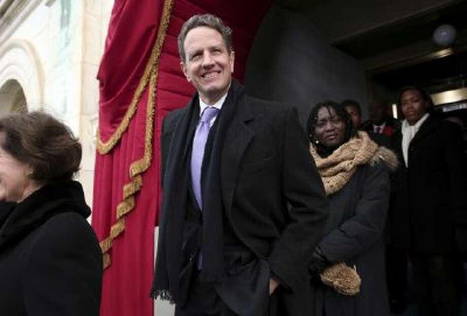 Former Treasury Secretary Timothy Geithner in Washington for President Barack Obama's inauguration in January 2013.