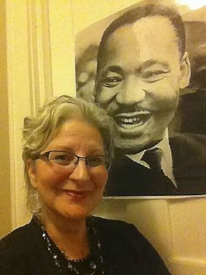 Submitted photo Victoria Christgau of Torrington is the recipient of the Serenity Award for her peace-finding work, focused primarily on the legacy of Dr. Martin Luther King Jr.