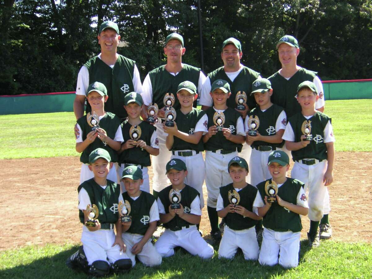 TO CELEBRATE 10 YEARS OF THE YOUTH SPORTS BLOG, this gallery highlights the teams who appeared in the blog and in the Times Union print edition in the early years of the blog Clifton Park 8-year-old all-stars after they won the Cal Ripken 8-year-old Mid- Atlantic Regional Tournament held in Clifton Park during the 2007 season. Kneeling: Nolan Yowell, Anthony Russo, Tim Hansen, Zack Hyland, Noah Sausville Standing: Kevin Huerter, Marty McCrudden, Ian Anderson, Jake Bundy, Ben Anderson, Sam Belleville (missing: Payton Johnson) Coaches: Tom Huerter (head coach), Mike Hyland, Warren Bundy, Bob Anderson.CLICK HERE to read the blog post.