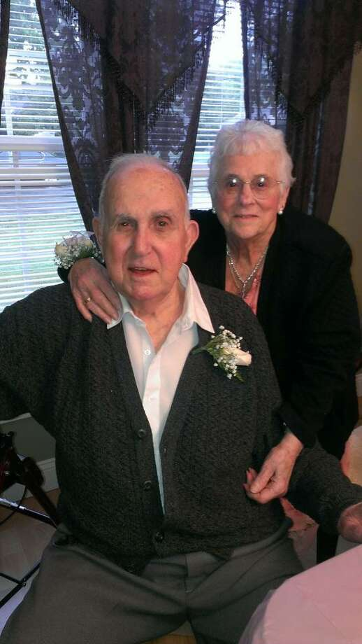 Contributed photo: Frank and Marie Renaldi of Hamden.