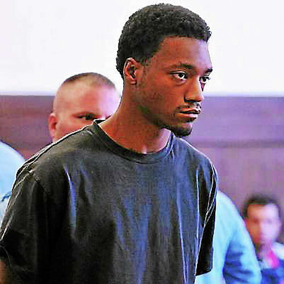 File photo: Aaron Powell of East Haven Photo: Journal Register Co.