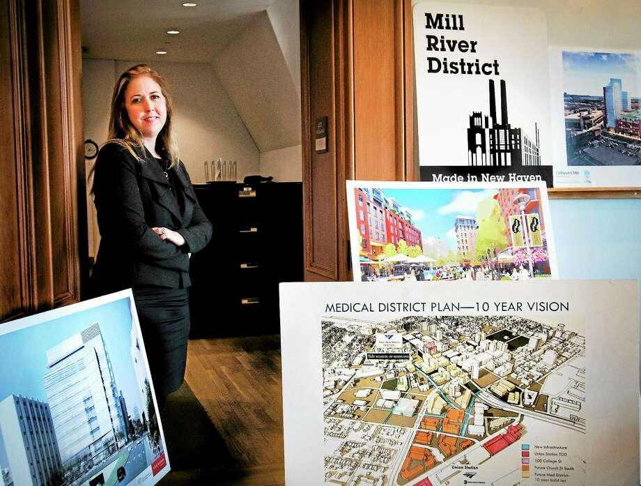 Kelly Murphy, outgoing economic development administrator for New Haven. Photo: Melanie Stengel — New Haven Register