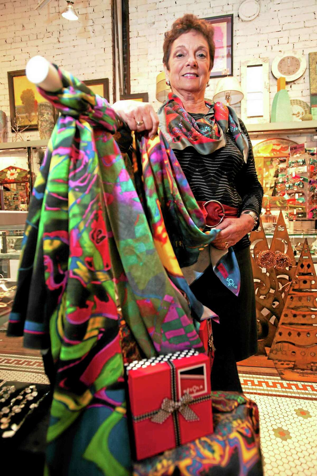Artist Lois Goglia of Cheshire says she finds inspiration for her work in the vibrant people and culture of San Miguel de Allende, Mexico.