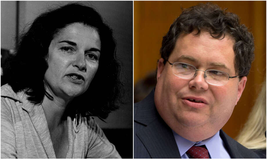 Would the Republican representative want to challenge his step-grandmother, the Democrat and feminist icon Sissy?