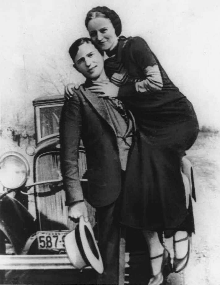 This is an undated photo of bandits Bonnie Parker and Clyde Barrow.  (AP Photo) Photo: ASSOCIATED PRESS