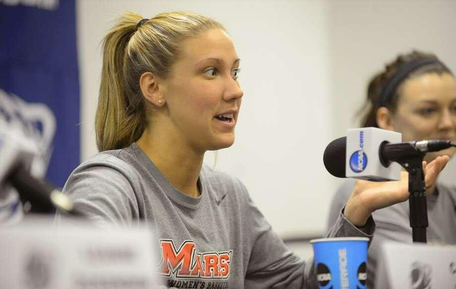 Casey Dulin. (Photo courtesy of Marist Athletics)