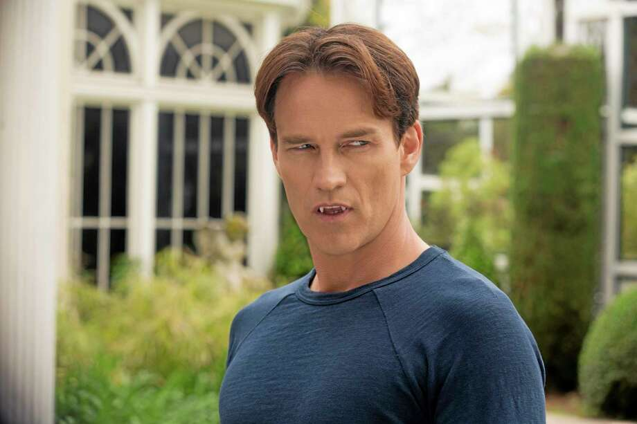 "This publicity image released by HBO shows Stephen Moyer as Bill Compton in the series ""True Blood."" HBO said Tuesday, Sept. 3, 2013, that the series will end next year, following a 10-episode season that will begin in the summer. That will be the show's seventh season. (AP Photo/HBO, John P. Johnson) Photo: AP / HBO"