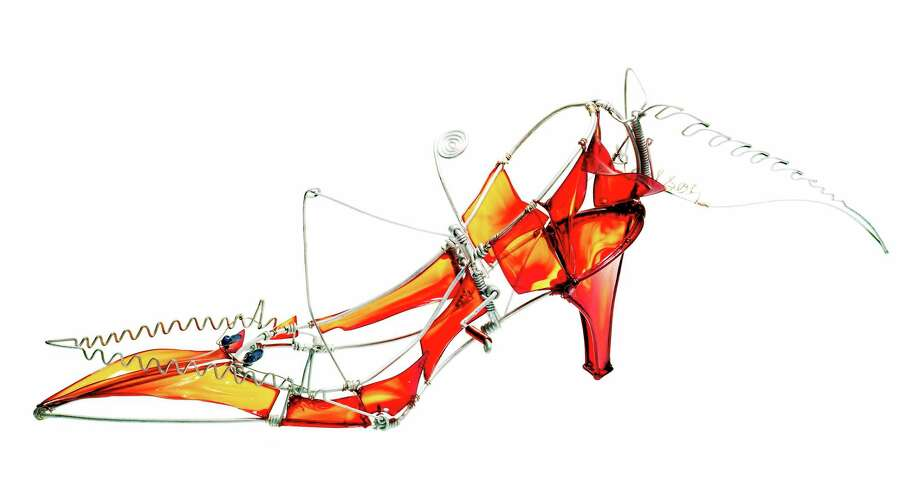 A showing of fantasy shoes, such as Automata VI shown here, will be part of Film & Fashion Weekend festivities Sunday. Photo: Contributed Photo