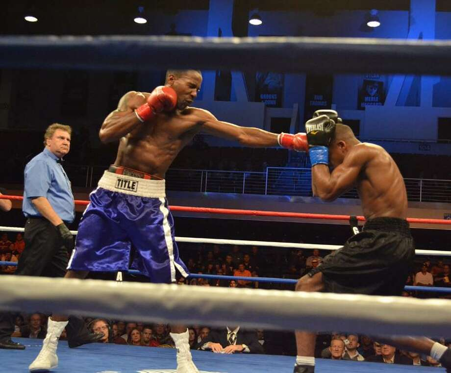 SUBMITTED PHOTO/JILL BONNETT Undefeated light heavyweight Ryon McKenzie of Canastota, NY will return to action Friday, March 29 on the undercard of ESPN Friday Night Fights at Turning Stone Resort Casino.