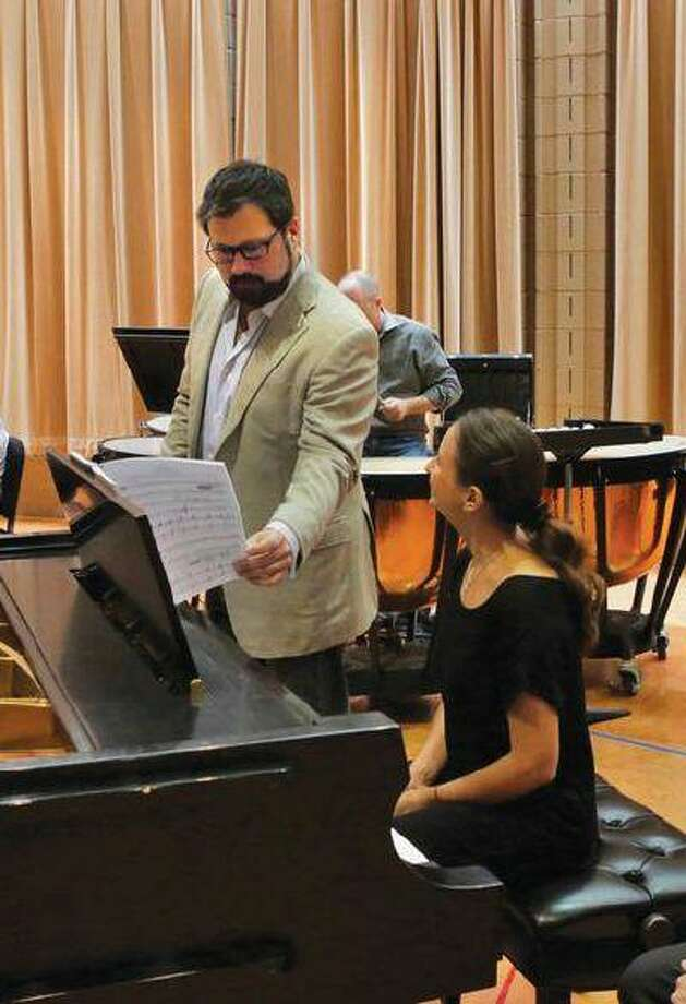 "David Daniels with pianist Jeanne-Minette Cilliers in a workshop performance of ""Oscar"" last summer. Photo: POST_UPLOAD / The Denver Post"