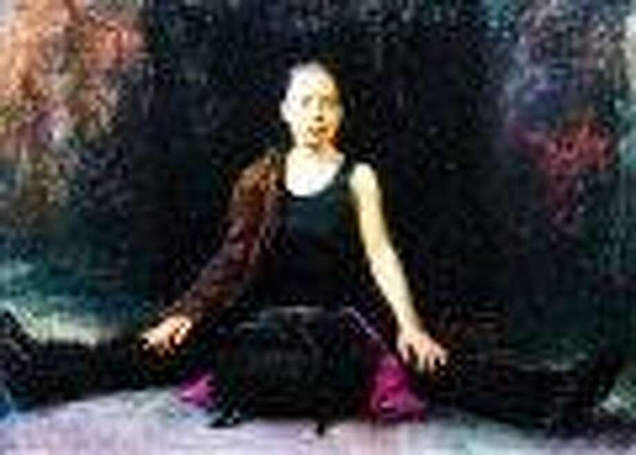 "Courtesy of the artist: ""Hynok Sitting"" by Steven Assael."