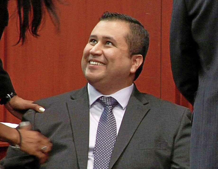 George Zimmerman. Associated Press file photo Photo: AP / TV Pool