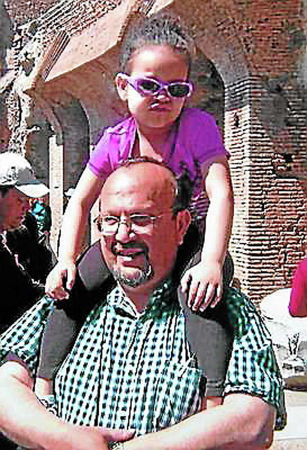 Arnold Giammarco and his daughter, Blair, in a photo taken in Italy. Photo: SUBMITTED PHOTO — Sharon Giammarco