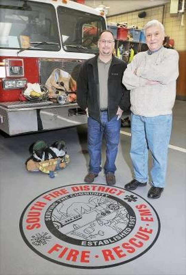Catherine Avalone/The Middletown Press     On Monday, Middletown residents will vote for Mike Gaudino, at left, 355 Chauncey Road or Ed Creem, at right, 979 Saybrook Road for South Fire District Commissioner. / TheMiddletownPress