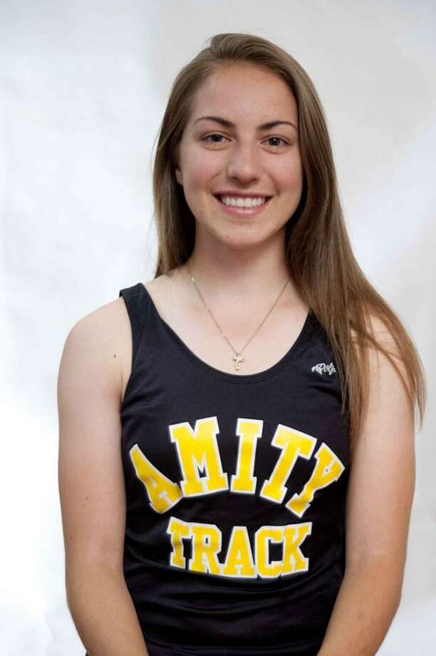 Female Athlete of the Week: Amity's Alexa Eldracher, Amity outdoor track and field. vmWilliams/Register
